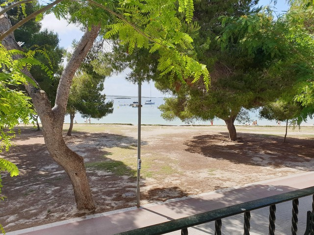 Apartment for sale in first sea line in the port, next to the beach in Colònia de Sant Jordi