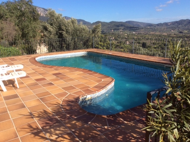 Alaro townhouse with swimming pool garden and recently reformed to a high level