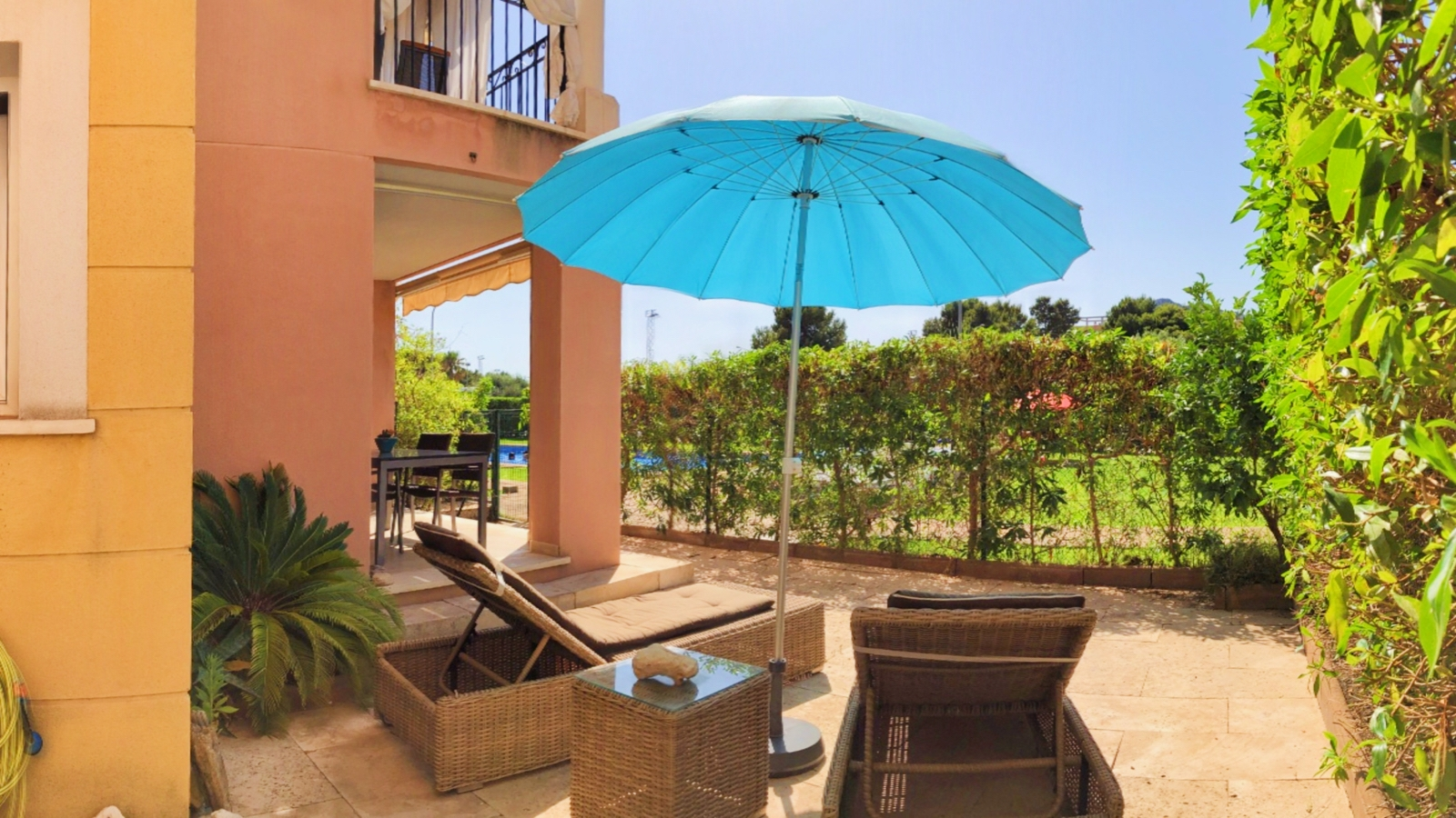 Garden apartment close to beach for sale in Cala Millor, Mallorca