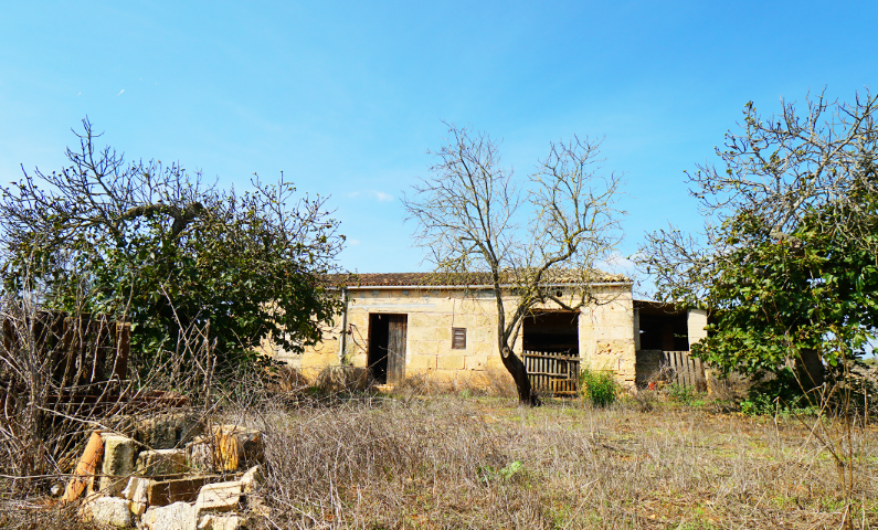 Finca with several units to build on a large plot in Santa Margalida