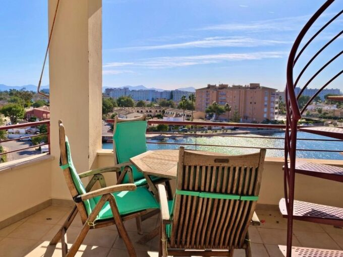 modern penthouse with views for sale in Port Alcudia