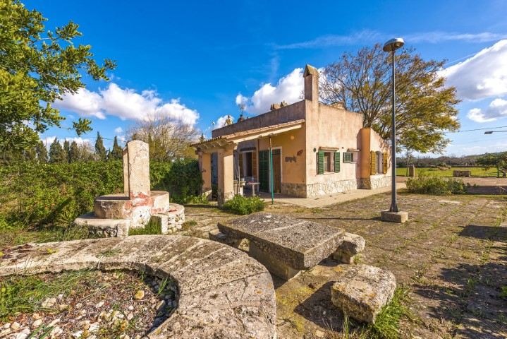 Two fincas for refurbishment for sale with panoramic views near Selva, Mallorca