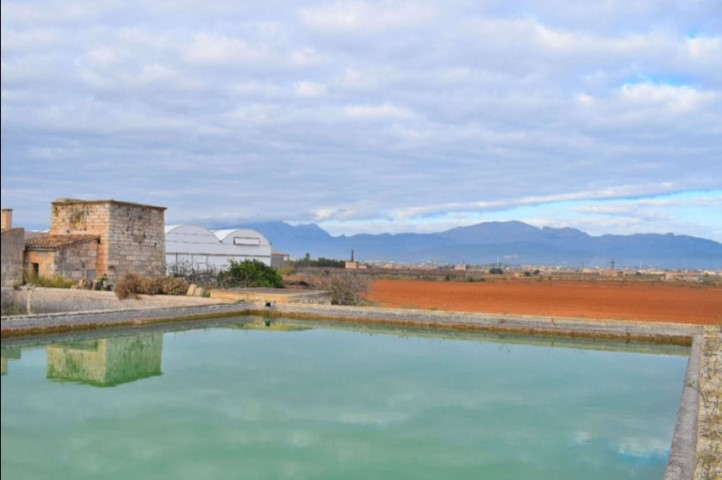 Rustic property on a large plot for sale in Muro.