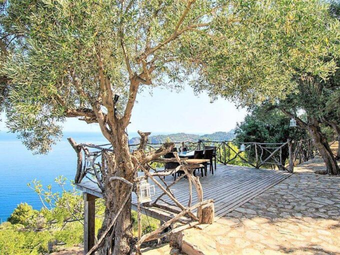 Unique seafront villa with private pool for sale in Deia