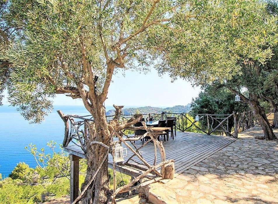 Unique seafront villa with private pool for sale in Deia