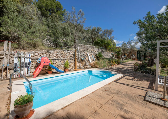 Stone property 'all legal' within a scenic location for sale in Soller