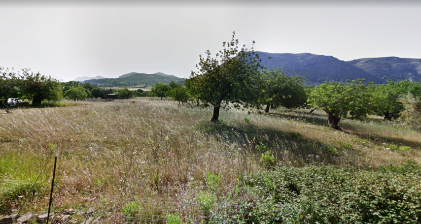 Building plot proposed five bedroom house in Son Fe Alcudia
